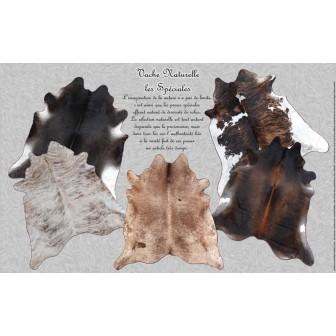 tapis en peau de vache naturelle les sp ciales ambiance. Black Bedroom Furniture Sets. Home Design Ideas