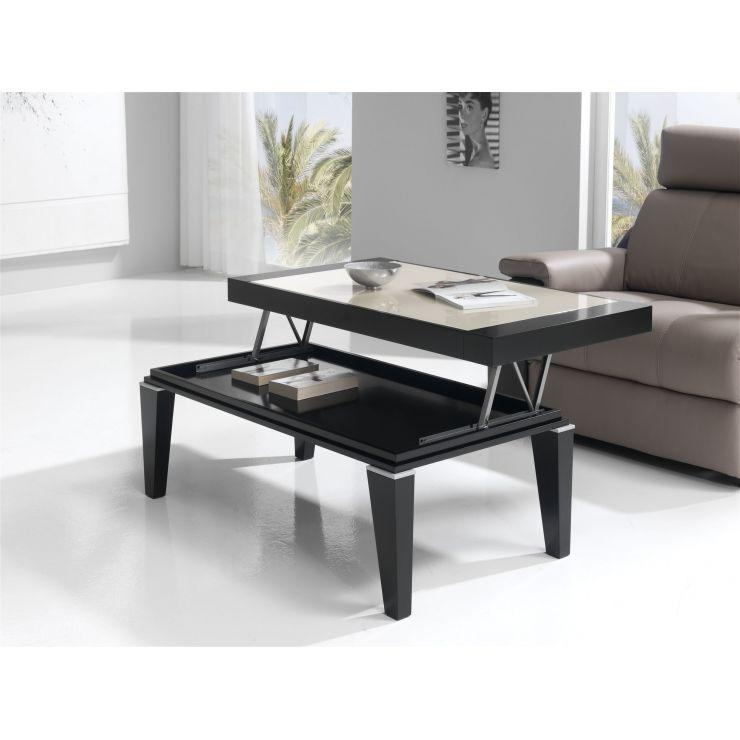 Table plateau verre 524