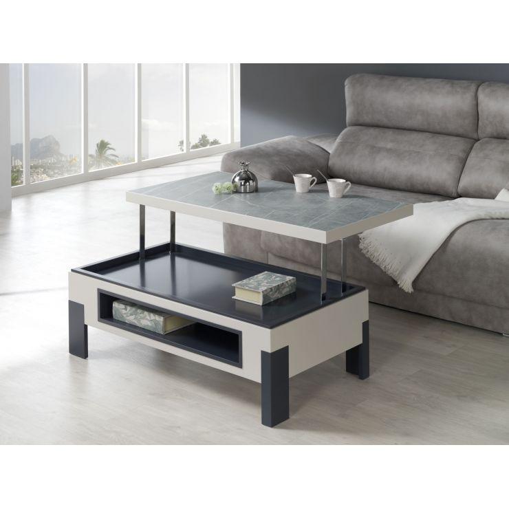 Table basse plateau céramique 736