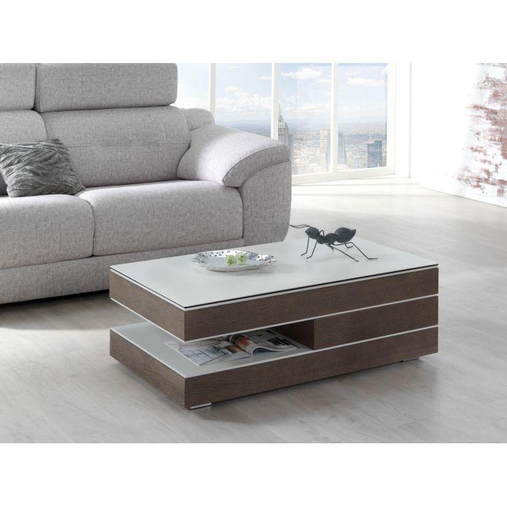Table basse plateau céramique 740