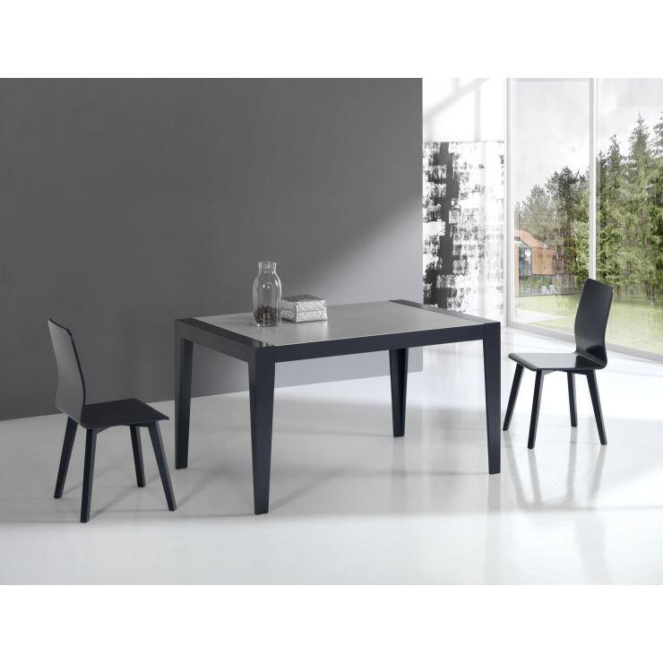 Table plateau et allonges céramique 766